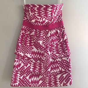 Strapless dress from Banana Republic